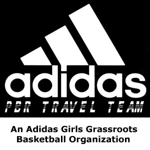 An Adidas Girls Grassroots Basketball Organization